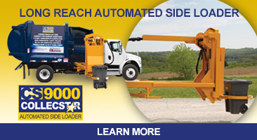 Long Reach Automated Side Loader