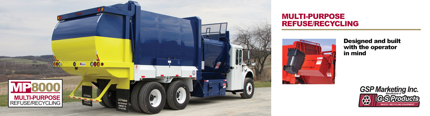 MP8000 Multi-Purpose Refuse/Recycling